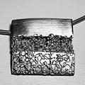 Hanger in zilver [werk cursist]