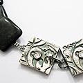 Halsketting met zilveren sluiting