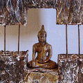 Sitting hindu