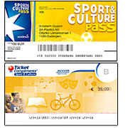 Sport & Culture cheque Accor / Sodexo