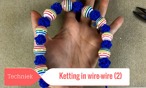 Halsketting in Wire Wire (Deel 2)