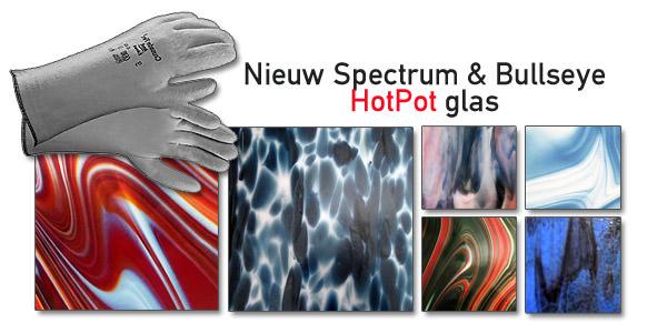 Nieuw bullseye en Spectrum HotPot glas voor de HotPot